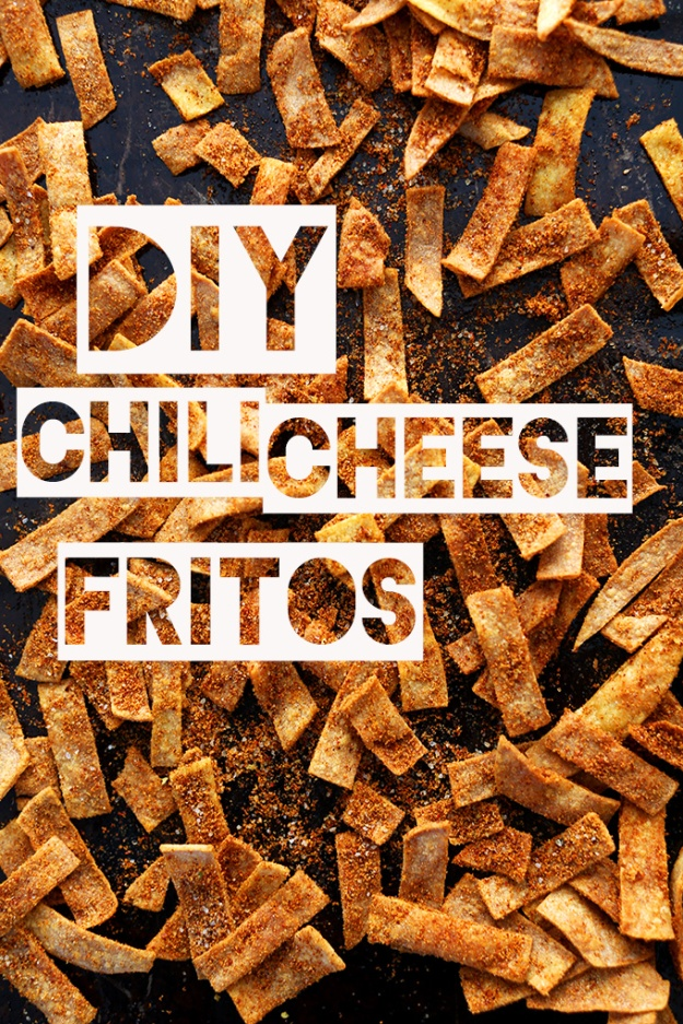 Baked Chili Cheese Fritos by Minimalist Baker