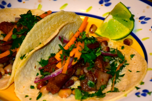 Tongue tacos