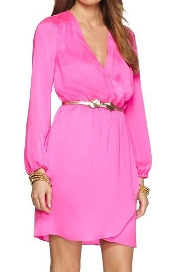 Whitaker wrap dress