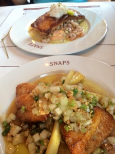 Lunch at Snaps