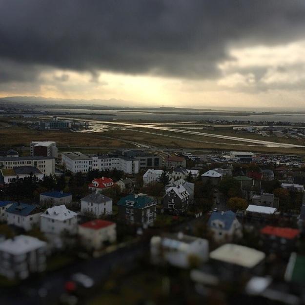 Reykjavik view