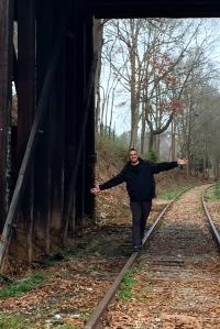 Railroad tracks TWD