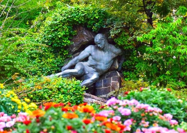 Luxembourg garden, Paris.