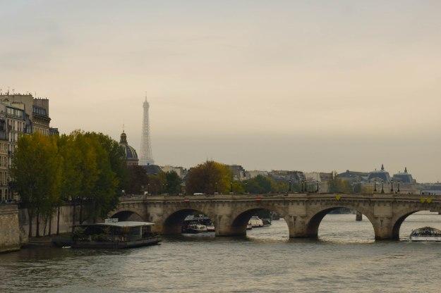 View over the Seine, Paris.