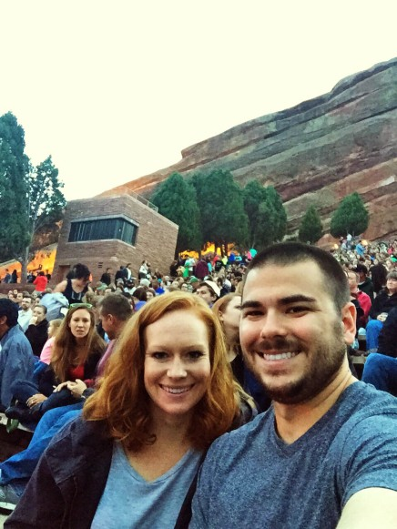 Movie at Red Rocks